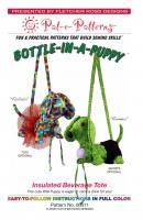 Bottle-in-a-Puppy Insulated Tote Pattern PTE-011
