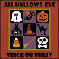 All Hallows' Eve Wall Hanging Pattern QN-004