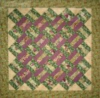 Cross Ties Quilt Pattern - Straight to the Point Series QW-04
