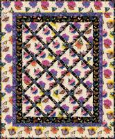 Garden Lattice Quilt Pattern - Straight to the Point Series QW-10