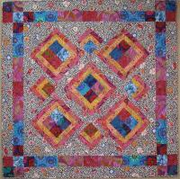 Summer Cabins Quilt Pattern - Straight to the Point Series QW-21