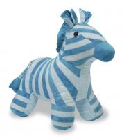 Zebra Stuffed Animal Pattern RQS-204