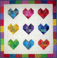 Scrappy Sweethearts Quilt Pattern SM-102