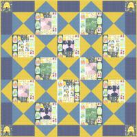 A Chick In The House Quilt Pattern SM-117