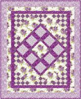 Scent of Lavender Quilt Pattern- Straight to the Point Series - SM-119
