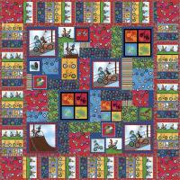 Totally Rad Riders Quilt Pattern SM-124