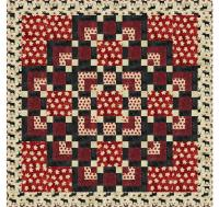 A Flair for Square Quilt Pattern SM-141