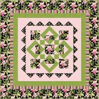 Summer Blooms with Passion Quilt Pattern SM-146