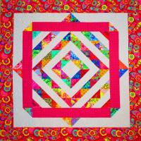 Color Explosion Quilt Pattern SM-150