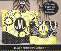 Kiss & Make-Up Cosmetic Bags Pattern SM2-112