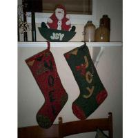 Old Fashioned Christmas Socks  Quilt Pattern SNG-178
