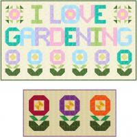 I Love Gardening Wall Hanging Pattern SP-204