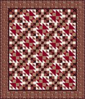 Marching Home Quilt Pattern TL-11