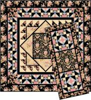 Crown of Roses Quilt Pattern TL-38