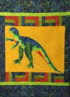 T-Rex at Sonrise Quilt Pattern TQS-29