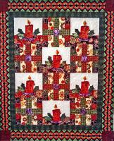 Holiday Candles Quilt Pattern TQS-85