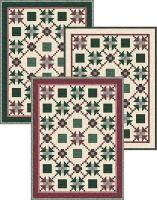 Red and Green Quilt Pattern TRQ-109