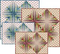 Island Nest - Paper Pieced Placemats, Center Mat and Napkins Pattern TRQ-117