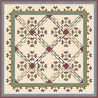 Sophia's Quilt and Pillow Covers Pattern TRQ-135