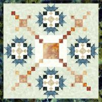 Star Flowers Quilt Pattern TRQ-143