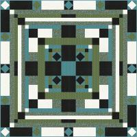 Village Square Quilt Pattern TRQ-148