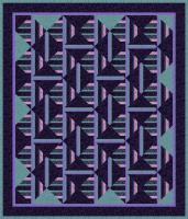 Venetian Windows Quilt Pattern TRQ-170