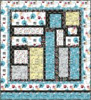 Sidewalk Cafe Quilt Pattern TRQ-173