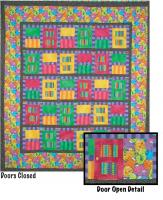 Monsters in the Closet Quilt Pattern TWW-0136