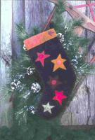 Starry Wool Stocking Pattern UCQ-04