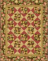 Country Rose Garden Quilt Pattern UCQ-P13e