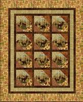 Cabin Window Quilt Pattern UCQ-P37e