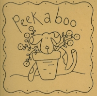 Baby's Day BOM - Peek a boo Pattern WB-325