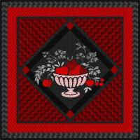 Americana in Red & Black Quilt Pattern YF-110