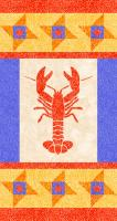 Maine Lobster Quilt Pattern YF-117