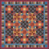 Into the Woods Snowball Plaid Quilt Pattern YF-119