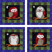 Owlettes Wall Hanging Pattern YF-120