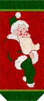 Jolly Old St. Nick Banner Pattern YF-121